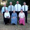 Overseas Workers SA Oak Lodge 11/11/08<br /> L to R Front Row: Karen Lund, Rose Farring, Jenny Lawry.   <br /> Second Row: Stanley Morrison, Peter Morrison, Trevor Joll, Lars Lund.