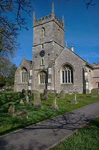 Crudwell Church, Wiltshire.