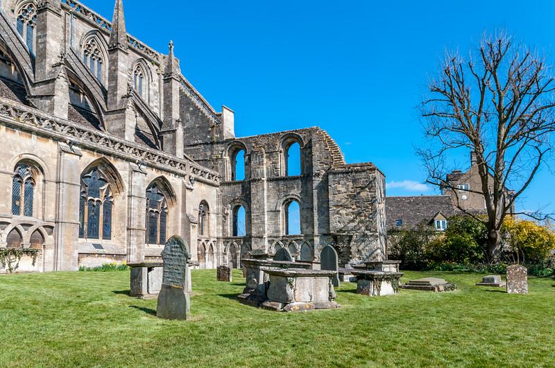 Malmesbury Abbey eastern end