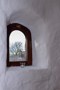Chapel window Ffald-y-Brenin