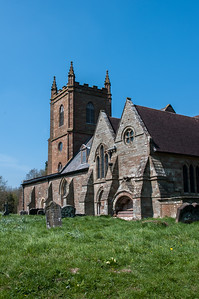 Hanbury Church, Worcestershire.
