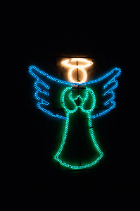 Christmas angel lights