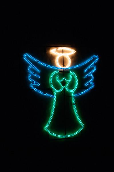 Christmas angel lights