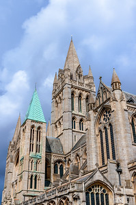 Truro Cathedral South Elevation