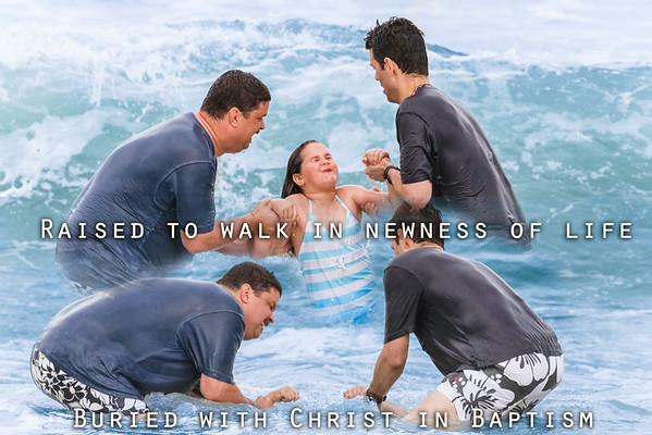 Beach Baptism 2012