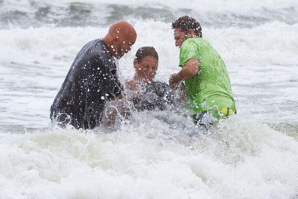 Beach Baptism 2014