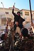 Rassemblement d'hommes de Maaloula à l'occasion de la fête de l'Exaltation de la croix. Syrie