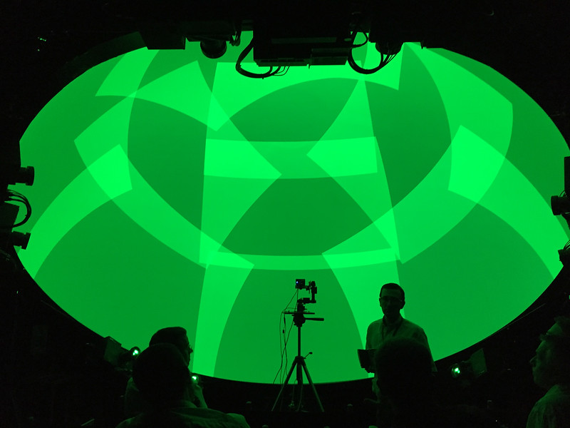 Dome - 11 projector