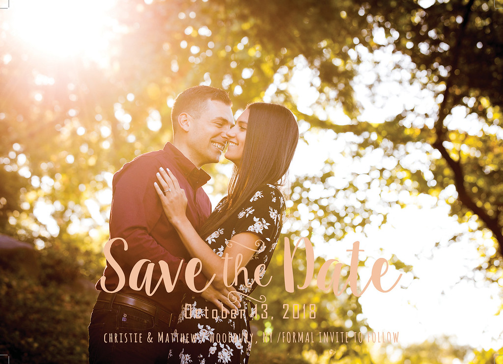 save the date 5 front