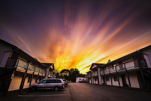 Nortwest Avenue Sunset