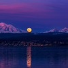Super Moon Rising Over Bellingham 1124