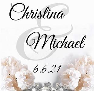 CHRISTINA & MICHAEL WEDDING  6-6-21 sample 3a
