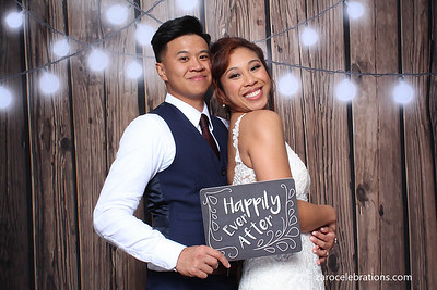 Christina and Jared's Wedding Reception Photo Booth