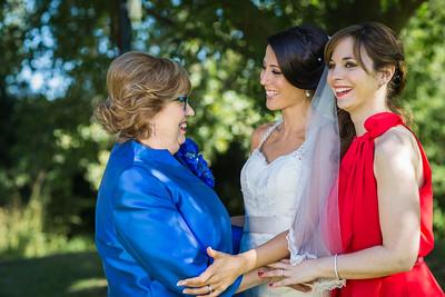 Bride & Family