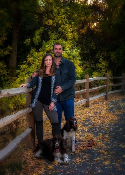 Christine & Adam Family photos