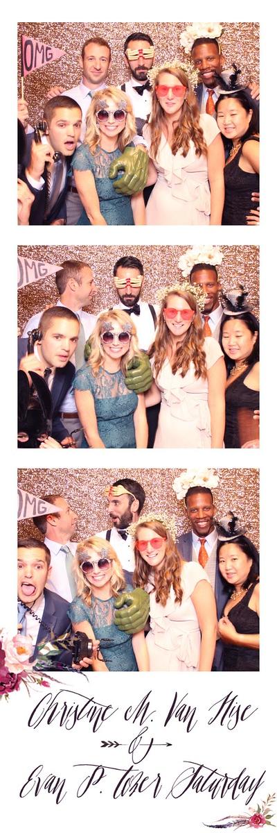 Christine + Evan's Wedding