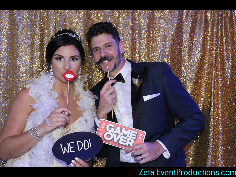 Wedding Photo Booth, Zeta Event Productions