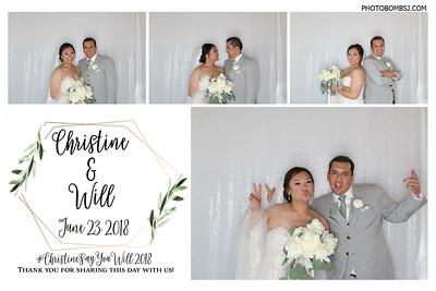 Christine & Will's Wedding