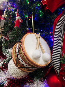 Toy Drum Christmas Ornament