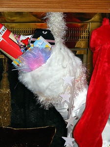 Rachel's stocking was also stuffed to the brim!