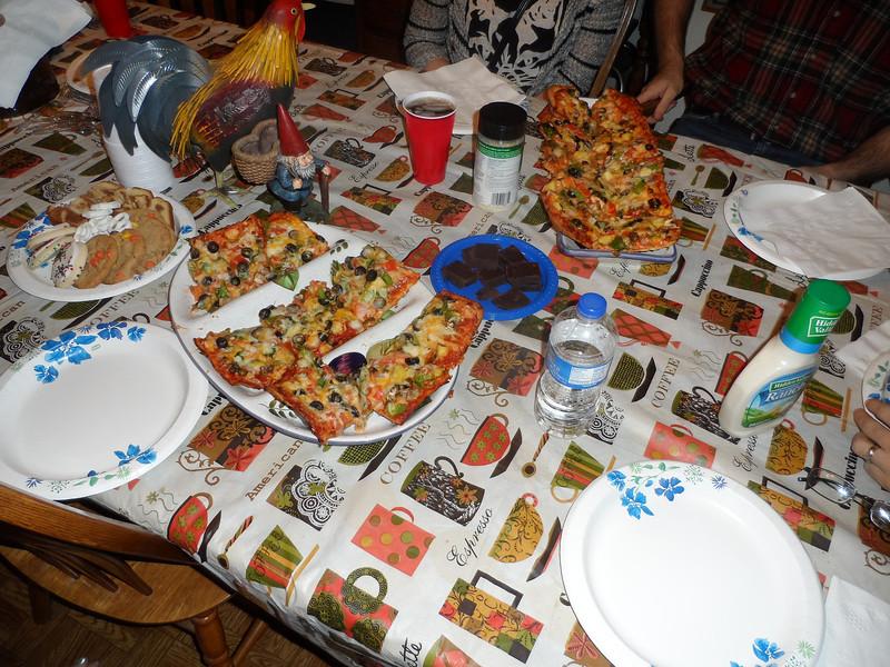 Homemade Vegetable Pizza!