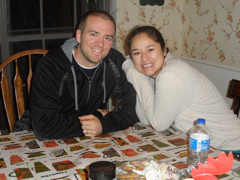 Luke Humphries and wife Tiffany