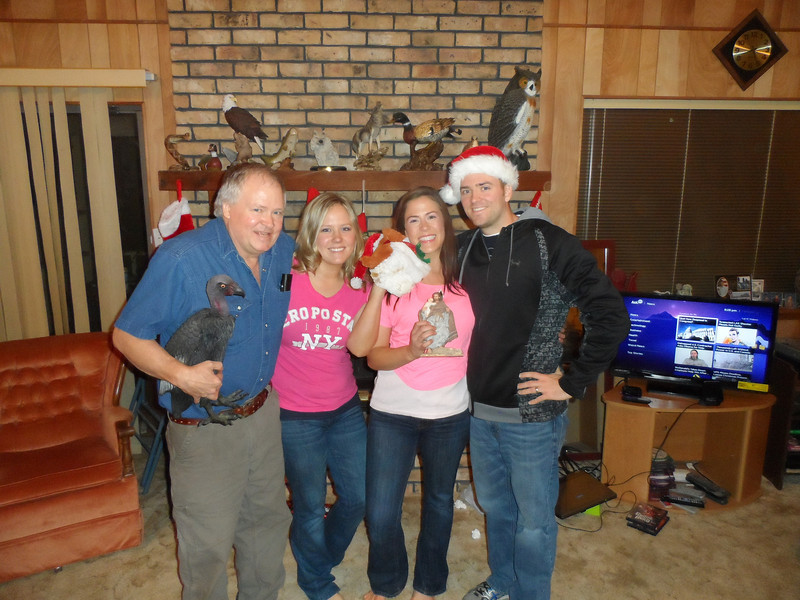 Ronnie (Dad), Katie, Sarah, and Luke Humphries