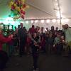 Cyan Christmas party pinata