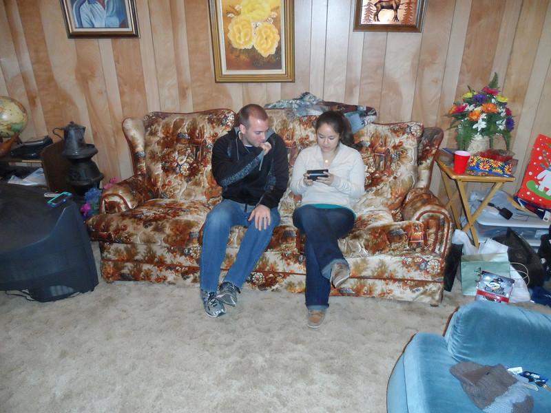 Luke Humphries and wife, Tiffany.