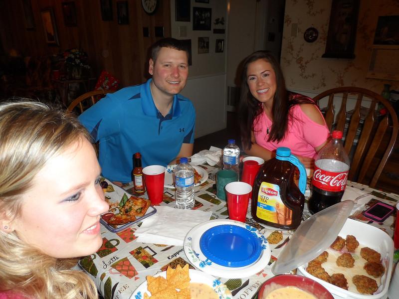 Katie Brooke, Adam, and Sarah Jane