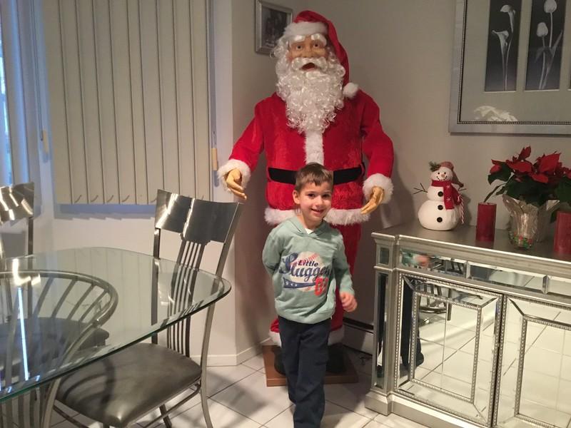 Cole and Santa