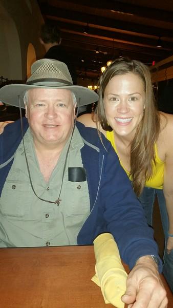 Dad and Sarah