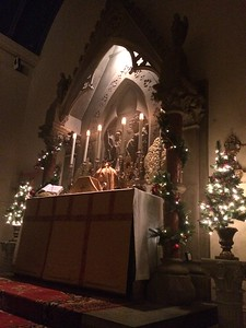 the High Altar at Christmas 2016