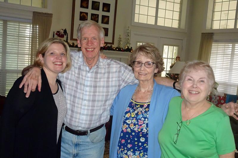 Susan Blosser Arthur, Fred Blosser, Joyce Arthur, Donna Blosser