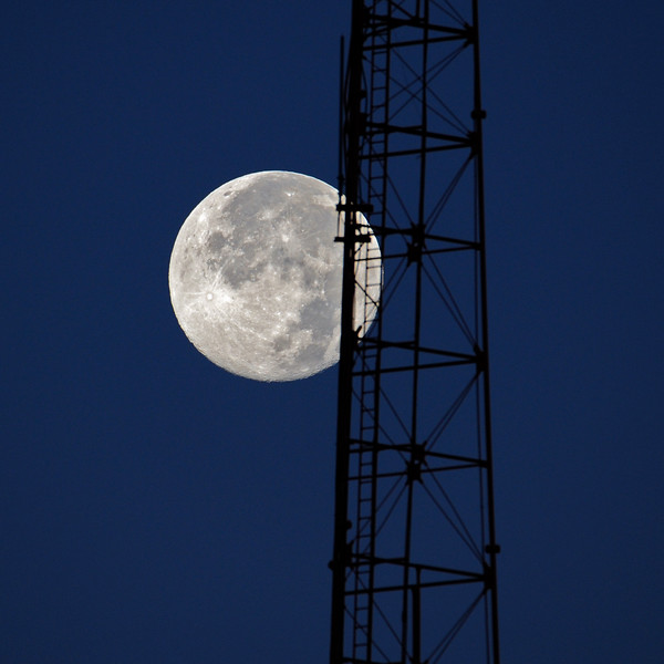 Moon and Tower