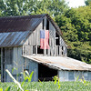 Barn with American Flag Vigo County