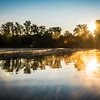 Wabash River Sunrise September 2017