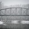 Wabash River Snow Bridge