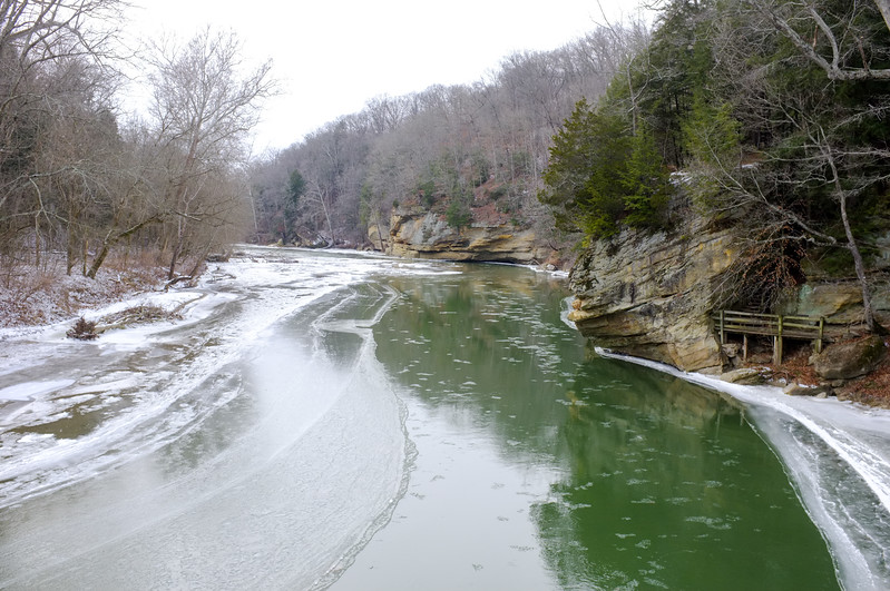 Turkey Run State Park, Sugar Creek, HRI