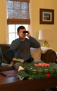 On the lookout with new binoculars