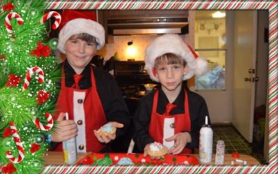 2014-12-23 Santa 2014 and Cookies
