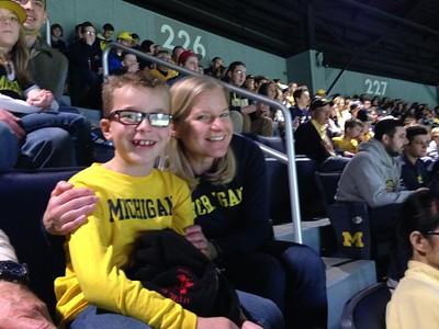The Michigan Basketball game