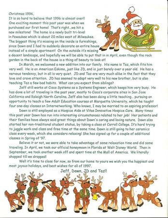Bojarski Christmas 1996