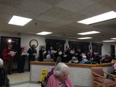 Christmas Caroling at Nursing Homes