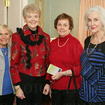 Sue Peege, Bunny Keursly, Betty Hager and Donna Whitehouse.