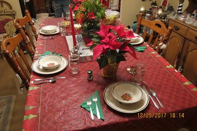 Christmas Dinner at Shaws 2017