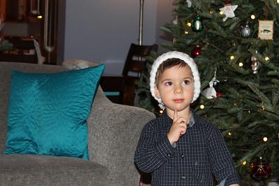 Christmas Eve and Christmas Morning