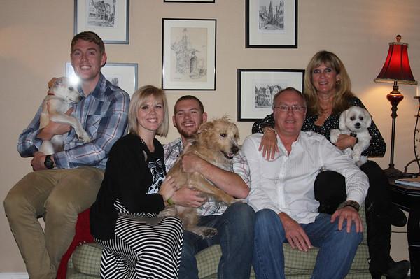 Christmas Family photo 2013