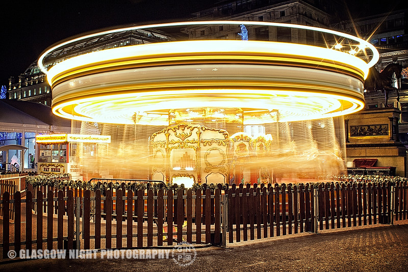 George Square carousel December 2012