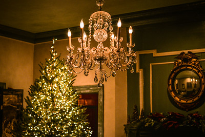 Christmas at The Olde Pink House in Savannah
